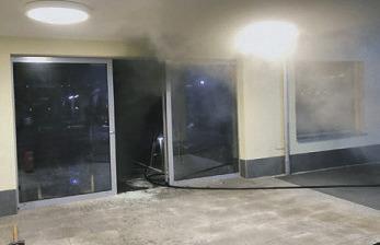 Neuer Laden ging in Flammen auf