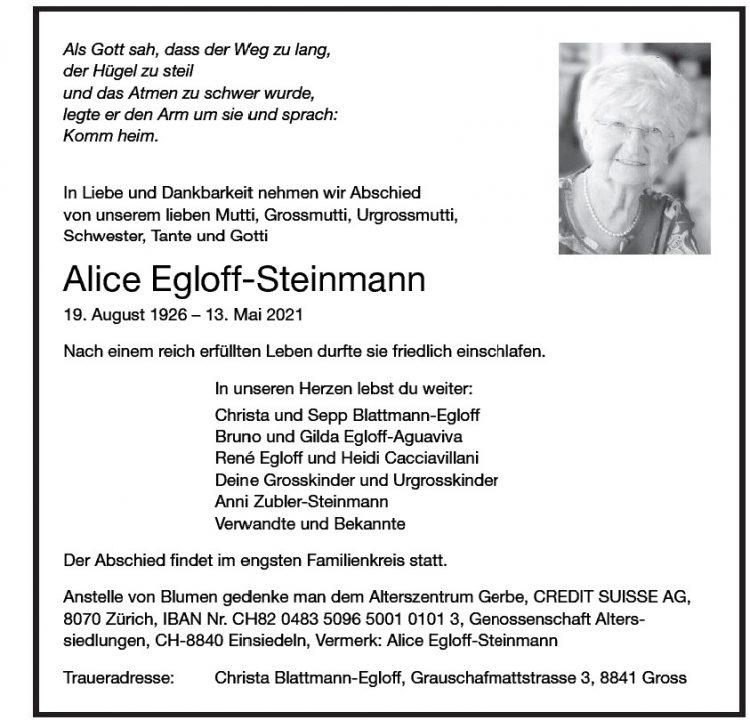 Alice Egloff-Steinmann