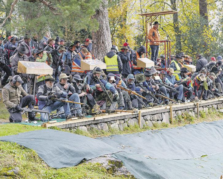 Rütlischützen feiern in  Einsiedeln – erst 2022