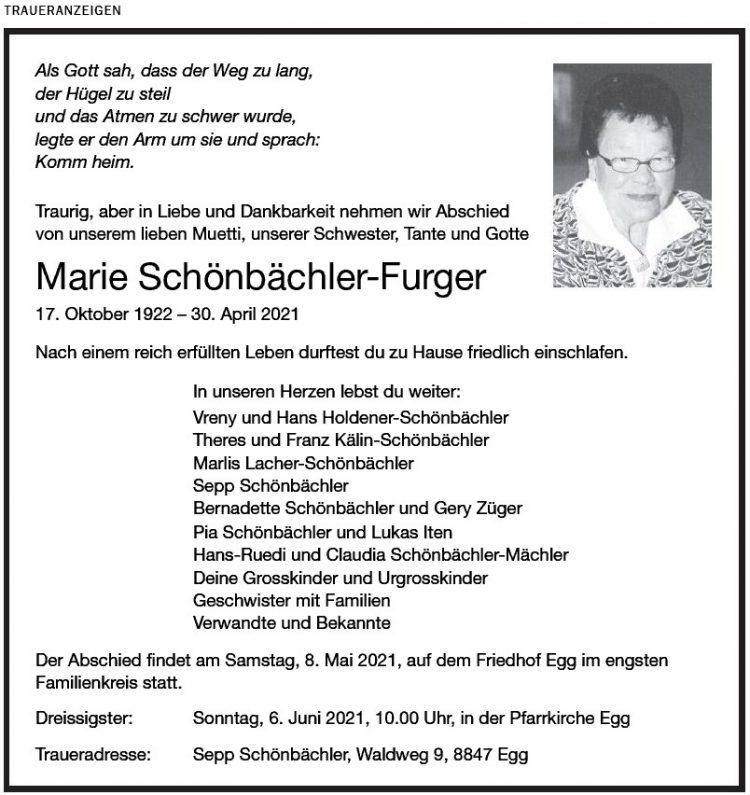 Marie Schönbächler-Furger