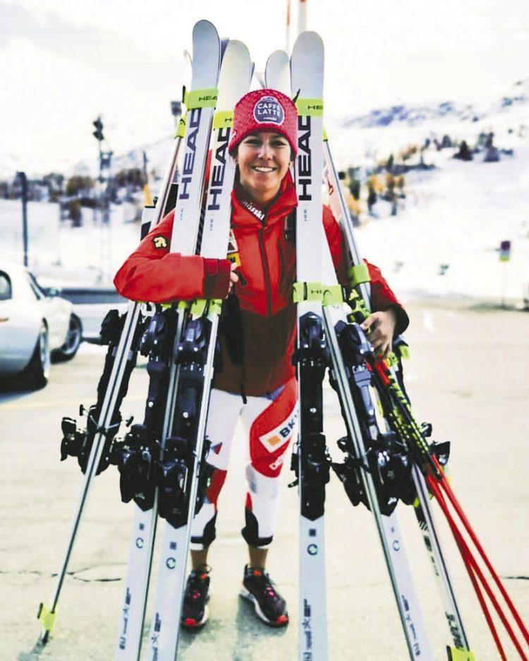Fährt Wendy den falschen Ski?