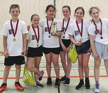 Handball-Klassencup mit 15 Schulklassen