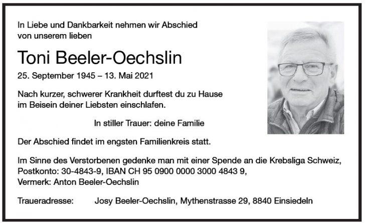 Toni Beeler-Oechslin