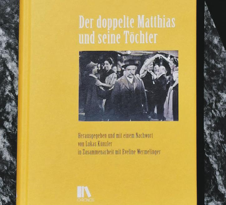 «Der doppelte Matthias» von  Meinrad Lienert neu aufgelegt