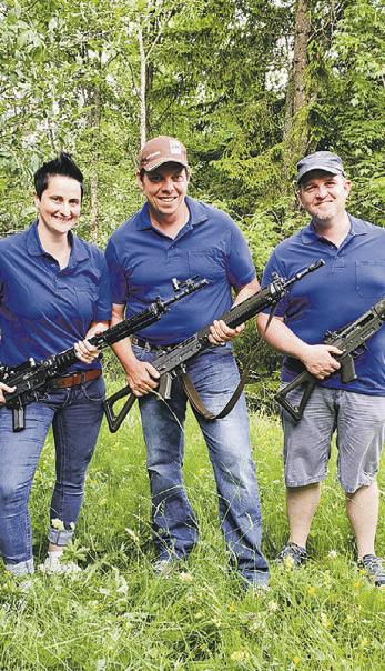 Das Eidgenössische Schützenfest  findet auch in Oberiberg statt