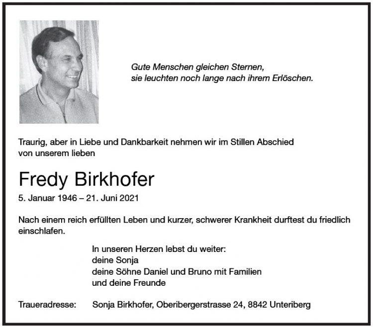 Fredy Birkhofer