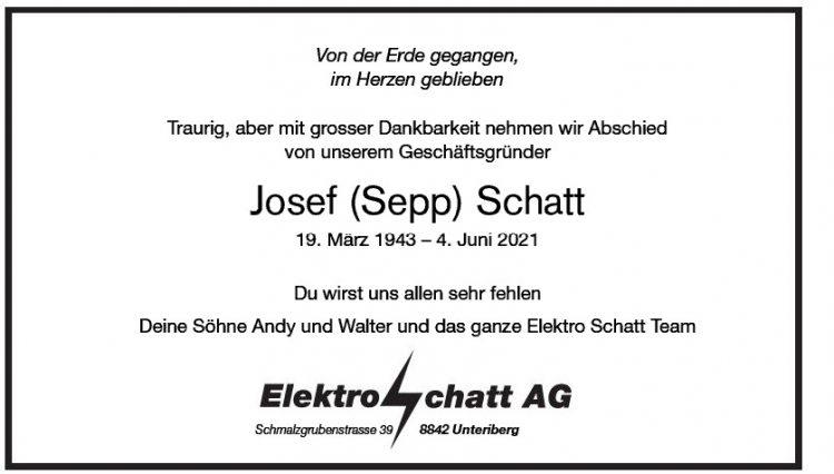 Josef (Sepp) Schatt