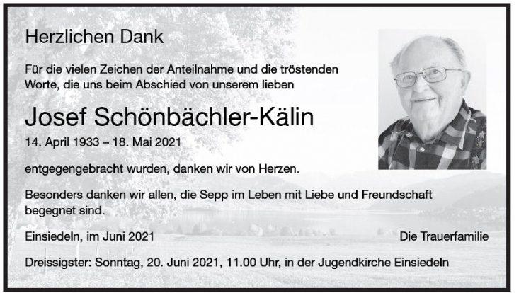 Josef Schönbächler-Kälin