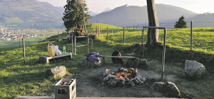 Kulturverein saniert die Tristel-Feuerstelle