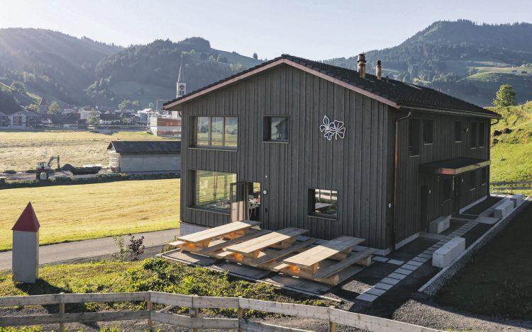 Pfadihaus Rothenthurm Ein Bau für spannende Erlebnisse