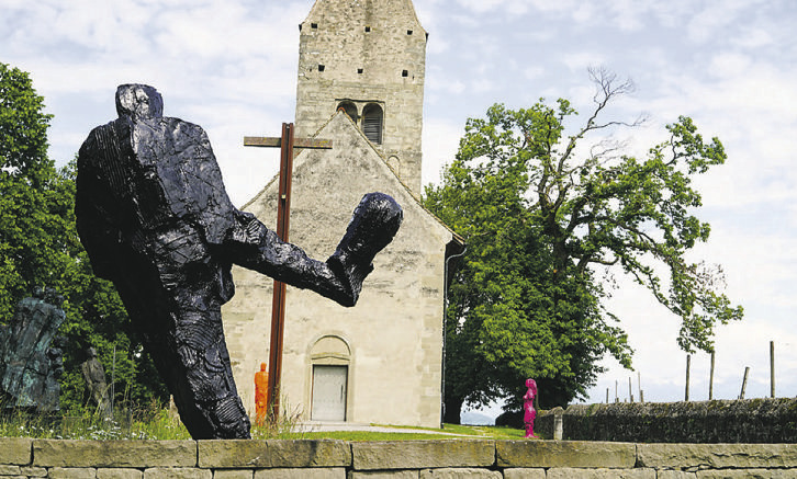 Schweizer Kunst ist zurück  auf der Klosterinsel