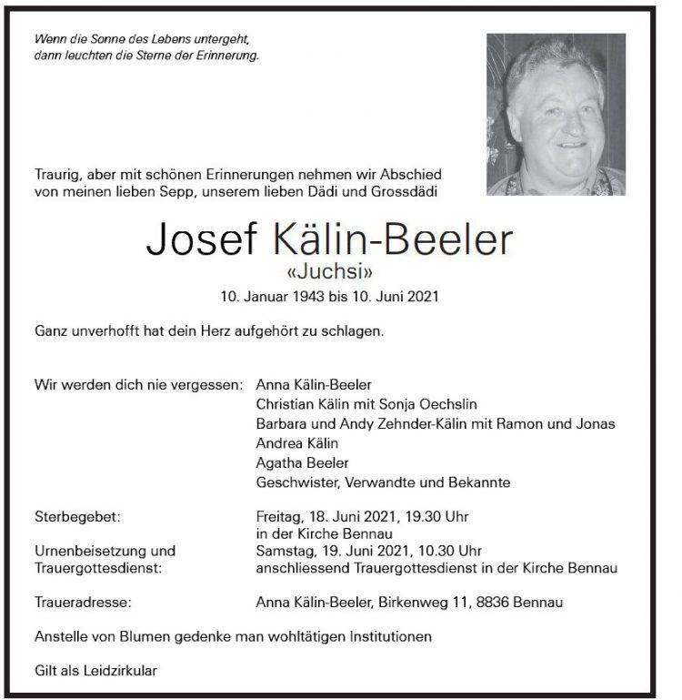 Josef Kälin-Beeler