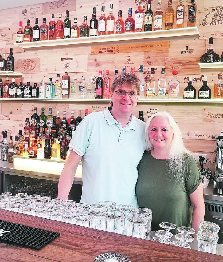 «Das ist unsere erste Bar»