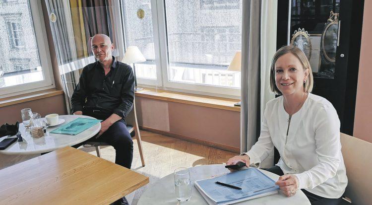 Roland Lutz und Leta Bolli – zwei unterschiedliche Persönlichkeiten stellen sich zur Wahl
