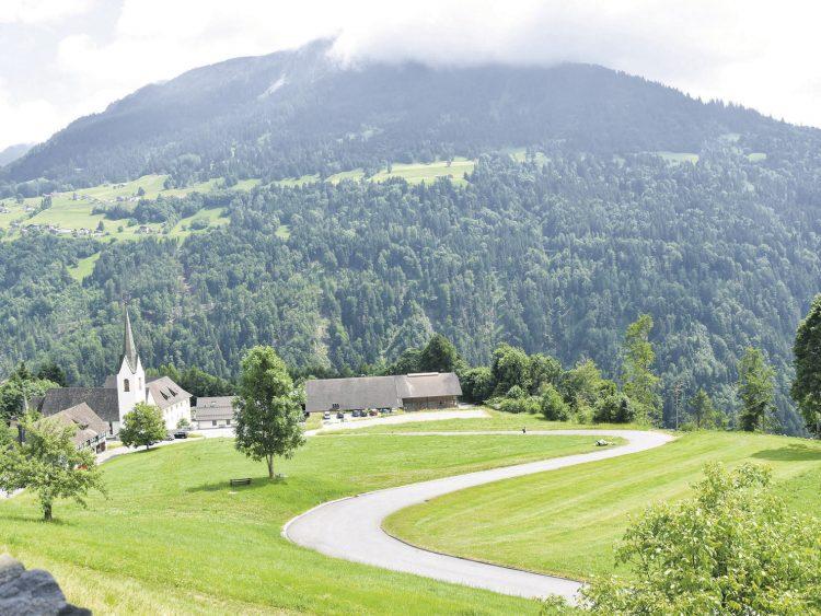 Wie die Propstei St. Gerold  erneuert wird
