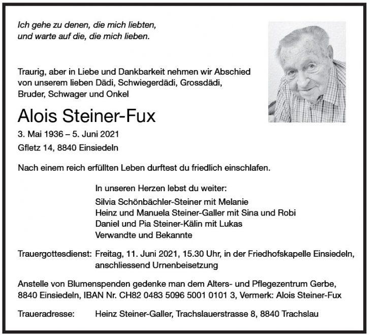 Alois Steiner-Fux