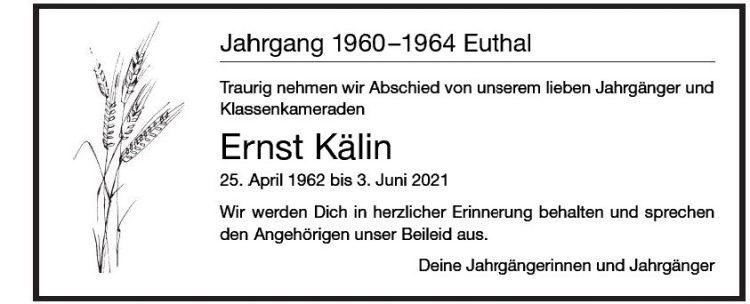 Ernst Kälin
