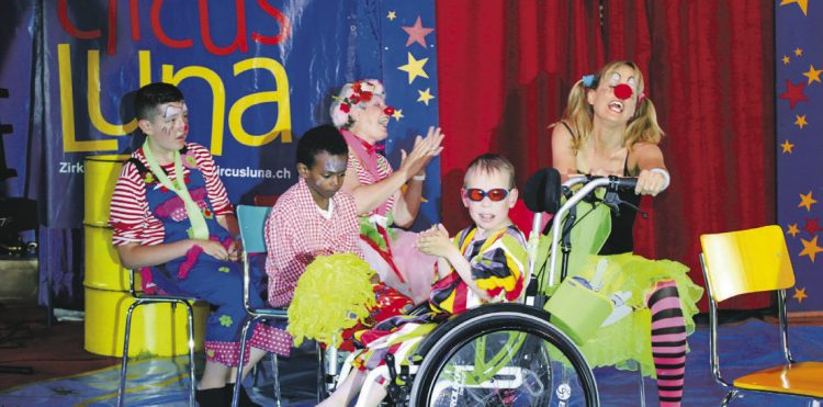 Zum Geburtstag einen Zirkus veranstaltet