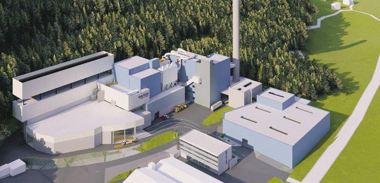 Die KVA Linth in Niederurnen will 200 Millionen investieren