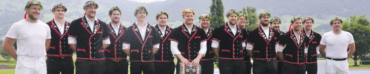 Mit sechs Kränzen erfolgreichster Schwyzer Klub