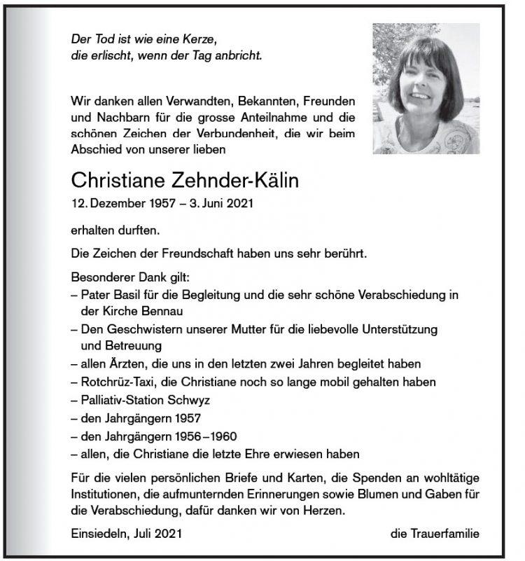 Christiane Zehnder-Kälin