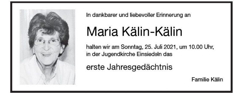 Maria Kälin-Kälin