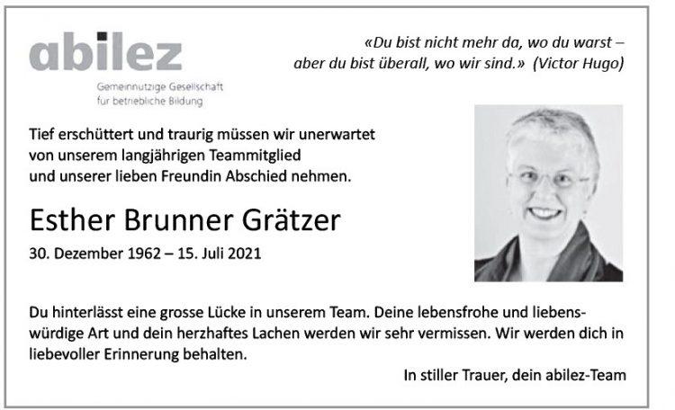 Esther Brunner Grätzer