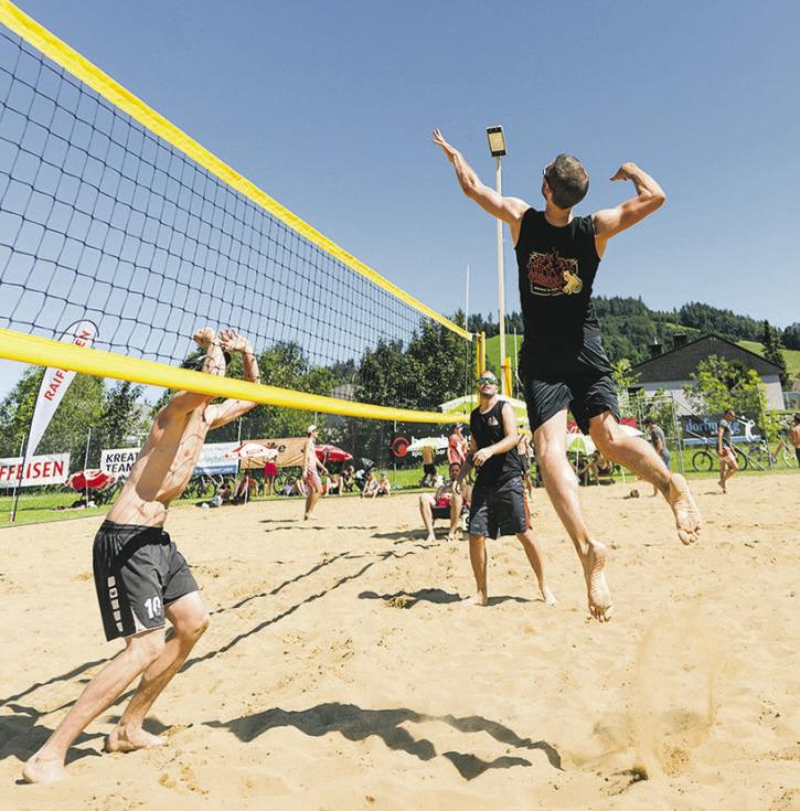 Beachvolleyball-Turnier in Einsiedeln