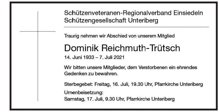 Dominik Reichmuth-Trütsch