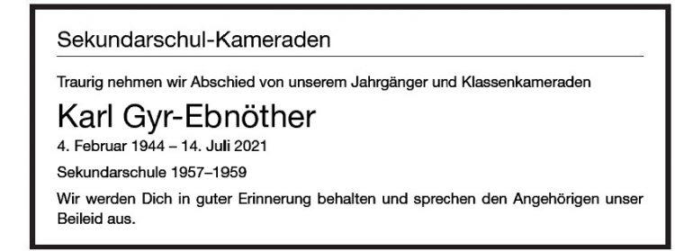 Karl Gyr-Ebnöther