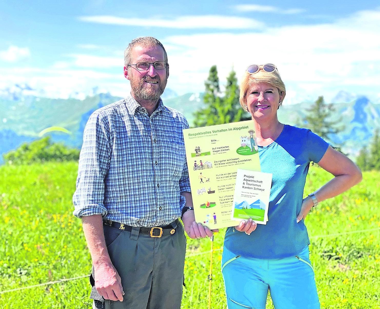 Alpwirtschaft und Touristiker suchen nach guten Lösungen