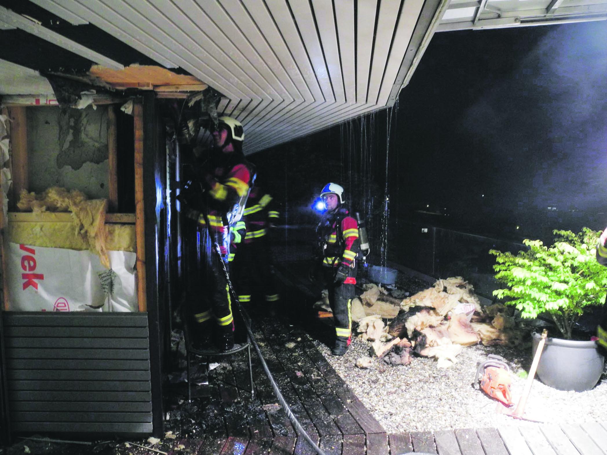 Euthal: Feuerwehreinsatz wegen Mottbrand