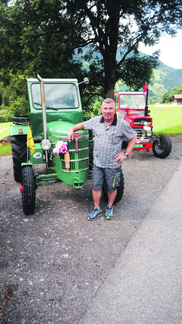 Mit dem Traktor durch die Schweiz – heute lesen, was morgen im EA steht
