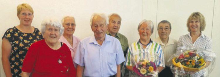 Viele Ehrungen und grosser Dank am  Sommerfest des Singkreises St. Cäcilia
