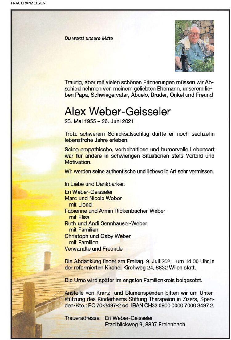Alex Weber-Geisseler