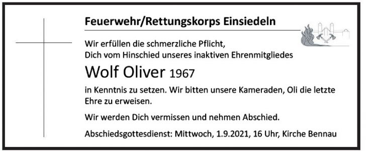 Wolf Oliver 1967