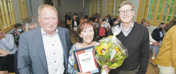 Betty Peter nun Ehrenmitglied