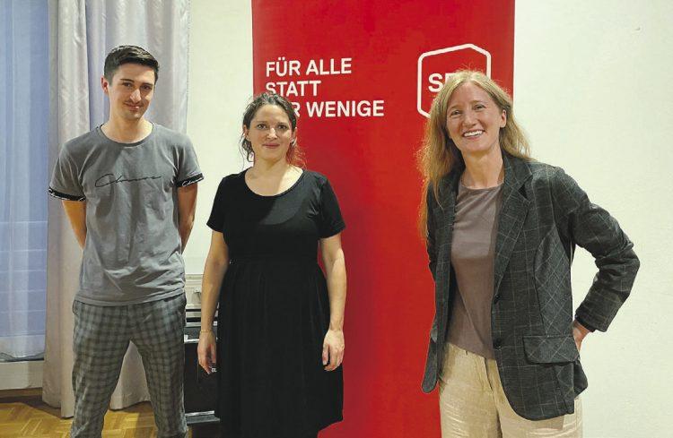 Nationalrätin Mattea Meyer zu Gast bei der Schwyzer SP