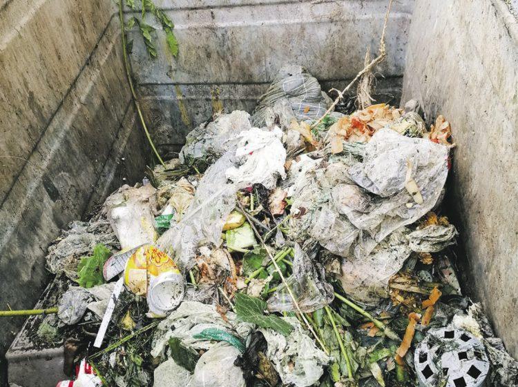 Kompostierbare Kehrichtbeutel sind im Klosterdorf verboten