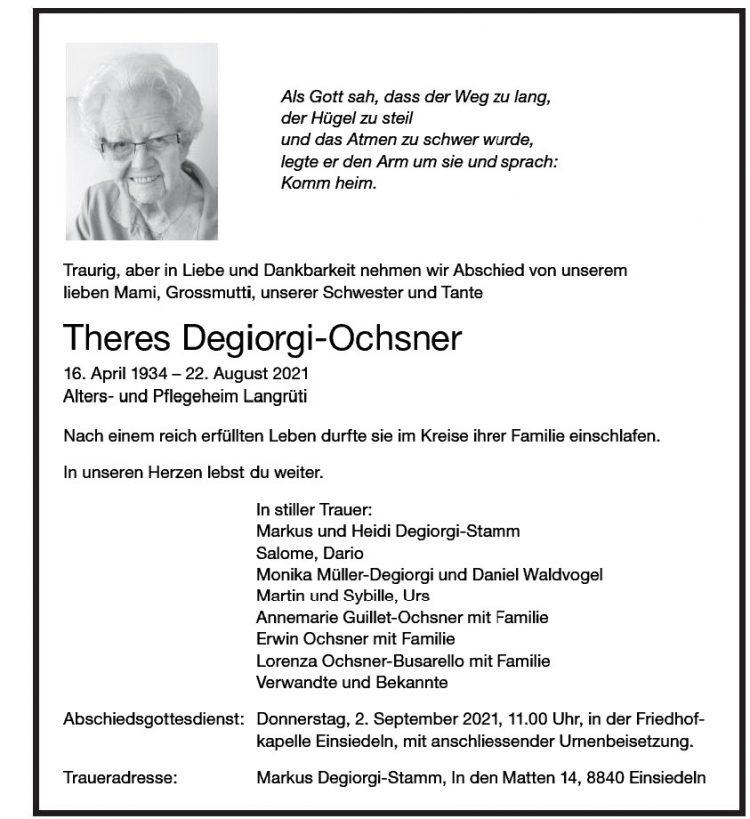 Theres Degiorgi-Ochsner