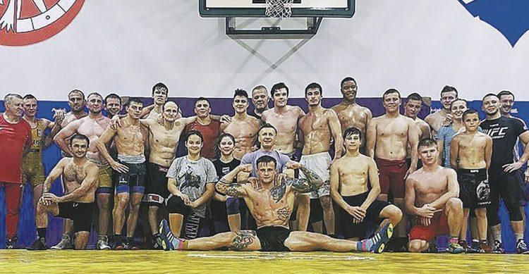 Einsiedler Ringer trainierten in Polen