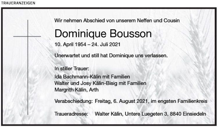 Dominique Bousson