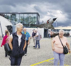 Grosser Senioren  «flogen aus»