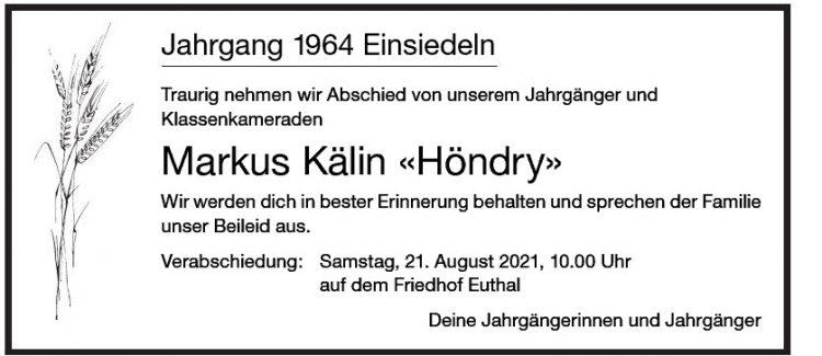 Markus Kälin «Höndry»