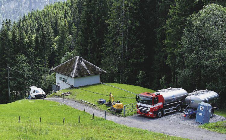 Sanierung Reservoir Brenten für rund 400'000 Franken