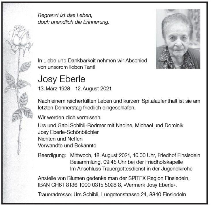Josy Eberle