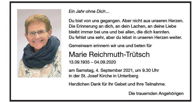 Marie Reichmuth-Trütsch