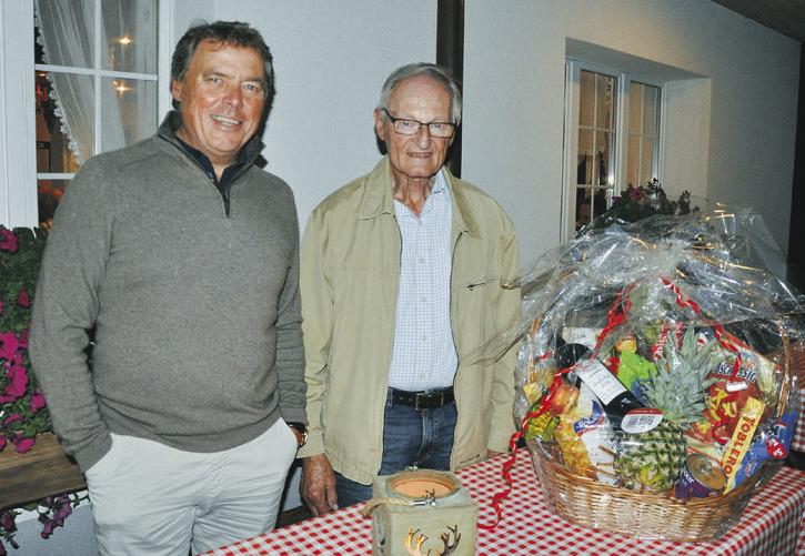 Für 70 Jahre  Mitgliedschaft geehrt