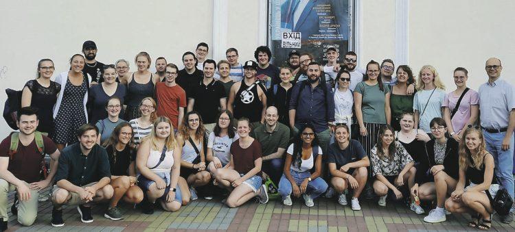 Schwyzer Musikerinnen und Musiker starteten   Konzertreihe in der Ukraine