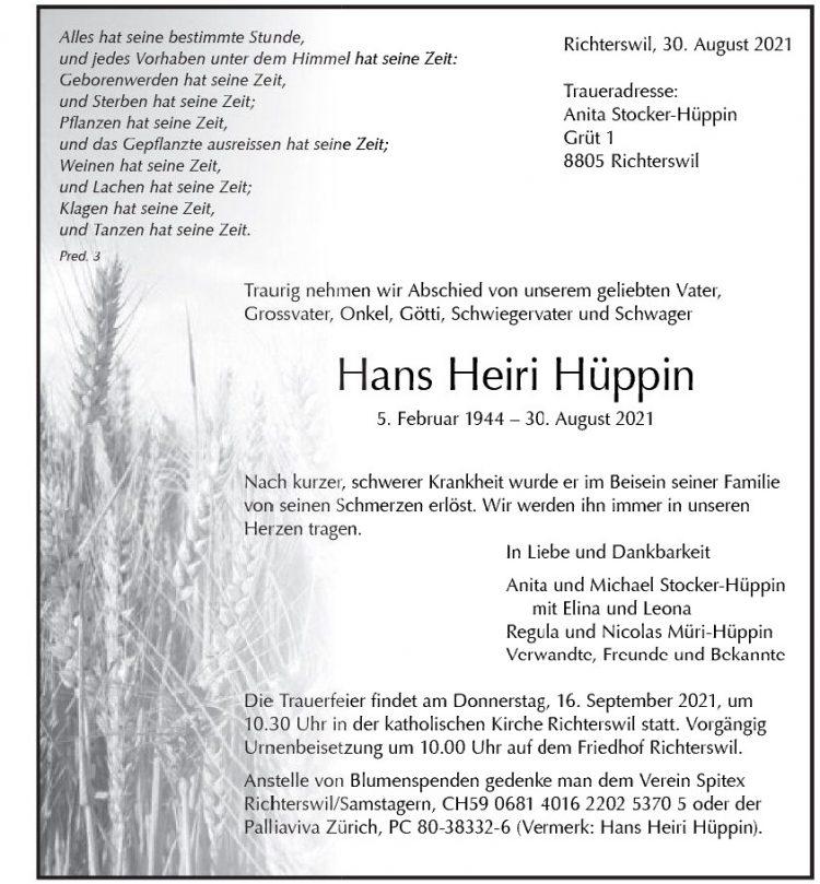 Hans Heiri Hüppin